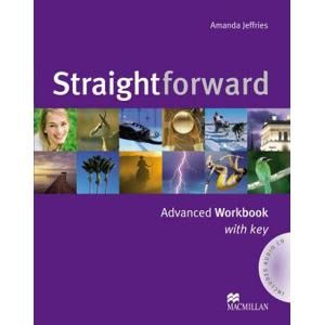 Straightforward advanced Workbook with key + audio CD