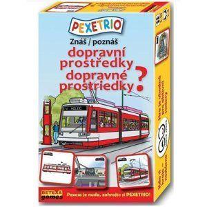 Pexetrio - Znáš dopravní prostředky?