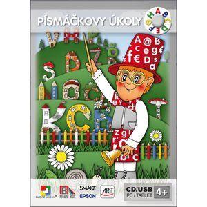 Hrajeme si a učíme se - PÍSMÁČKOVY ÚKOLY - interaktivní Software pro předškolní děti