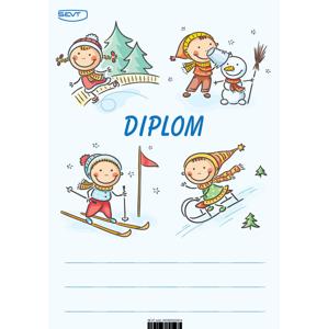 Diplom A5 Zimní aktivity