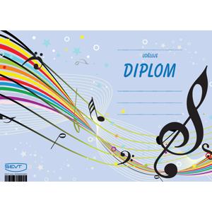 Diplom A5 Hudba a noty