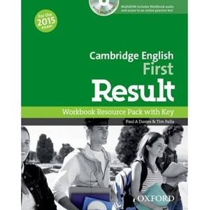 Cambridge English First Result - Workbook with Key and Audio CD - Davies, P. A. - Falla, T.