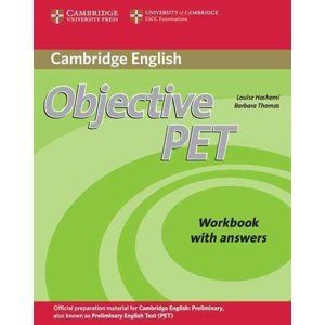 Objective PET Second Edition Workbook with answers -  Hashemi, Louise & Thomas, Barbara