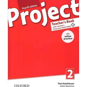Project 2 - Fourth Edition Teacher´s Book with OnLine Practice Pack - Hutchinson Tom