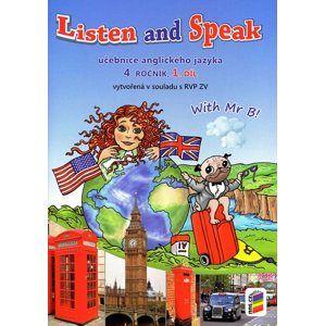 Listen and Speak - Učebnice angličtiny pro 4.ročník 1. díl  ZŠ