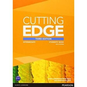 Cutting Edge Intermediate Students Book + DVD-ROM, 3.v. - Cunningham S., Moor P., Bygrave J.
