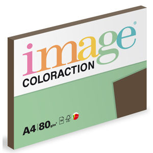 Coloraction A4 80 g 100 ks - Brown/sytá hnědá