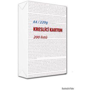 Kreslicí karton A4 220 g - 200 ks