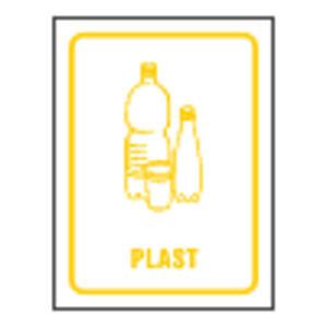 Separovaný odpad - Plast 12x16/ fólie