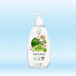 Real green clean - tekuté mýdlo - 500 g