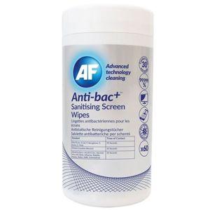 AF Anti Bac - Screen Cleaning Antibakteriální čisticí ubrousky, 60 ks