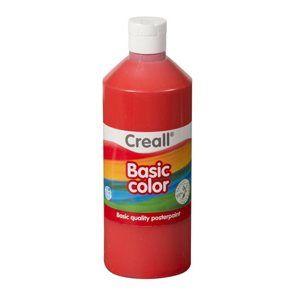 Temperová barva Creall 500 ml světle červená