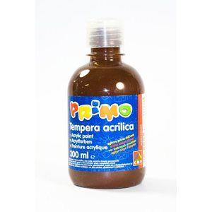 Primo Akrylová barva Acrilica, 300 ml - tmavě hnědá