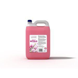 Lavon tekuté mýdlo 5 l - magnolia (růžové)