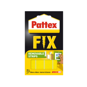 Pattex Super Fix - proužky 4 cm x 2 cm ( 10 ks )