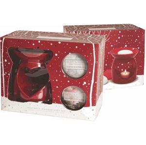Albi Vánoční sada aromalampa Srdce Heart & Home