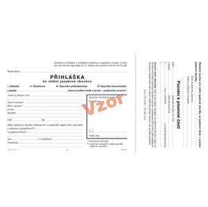 Přihláška ke státní jazykové zkoušce pro jazykové školy (s pozváním k písemné části státní jazykové