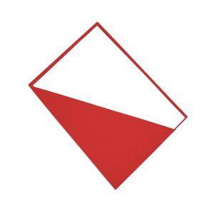 CAESAR OFFICE Deska s rohovou kapsou A4 - červená