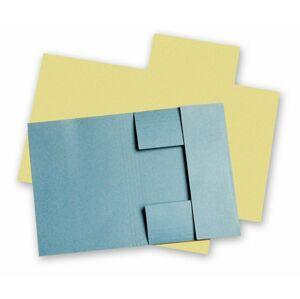 HIT Odkládací mapa A5 tříklopá Classic - modrá