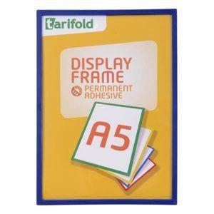 Display Frame samolepicí rámeček A5, 1 ks - modrý