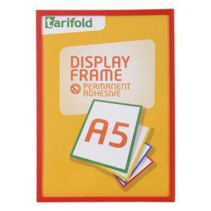 Display Frame samolepicí rámeček A5, 1 ks - červený