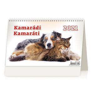 Kalendář stolní 2021 - Kamarádi/Kamaráti