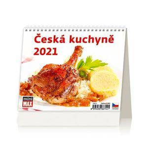 Kalendář stolní 2021 - MiniMax Česká kuchyně