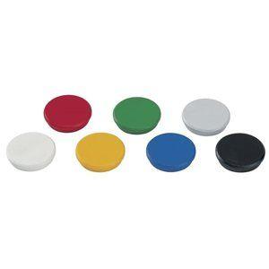DAHLE Magnet plánovací, Ø 32 mm, 10 ks - mix barev