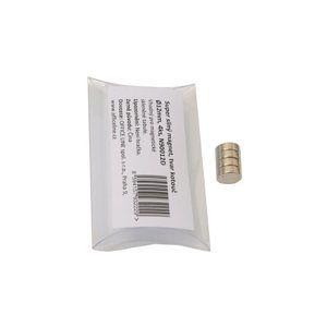 Super silné magnety - kotouč Ø 12 mm, 4 ks