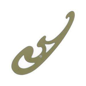 Koh-i-noor Křivítko K 12 kouřové 25 x 7 cm