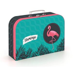 Dětský kufřík lamino 34 cm - Flamingo