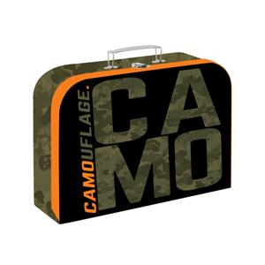 Dětský kufřík lamino 34 cm - Camo 2020