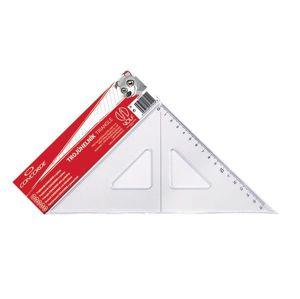 CONCORDE Trojúhelník s ryskou - transparentní