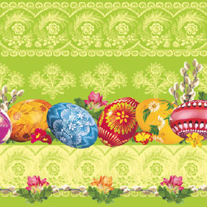 Stil Ubrousky 33 x 33 Velikonoce - Velikonoční vajíčka