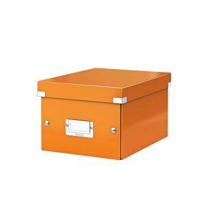 Leitz Click & Store Archivační krabice A5 - oranžová