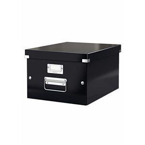Leitz Click & Store Archivační krabice A4 - černá