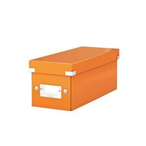 Leitz Click & Store Krabice na CD - oranžová