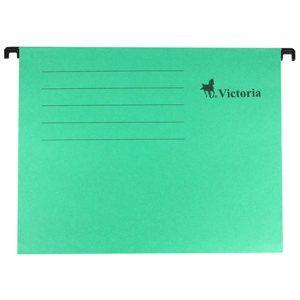 Victoria Závěsné zakládací desky A4 - zelené