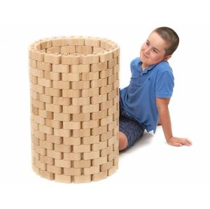 Dřevená stavebnice Godi, 224 dílů