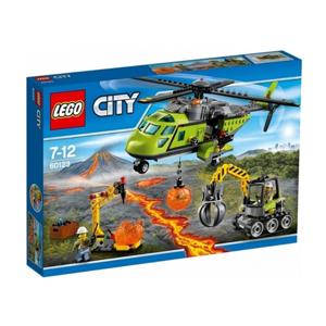 LEGO City 60123 Sopečná zásobovací helikoptéra, 7-12 let