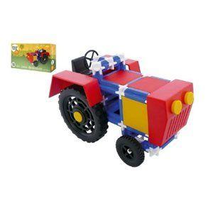 Stavebnice Seva Traktor, 115 ks
