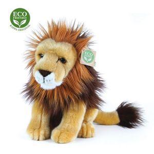 Plyšový lev sedící, 25 cm