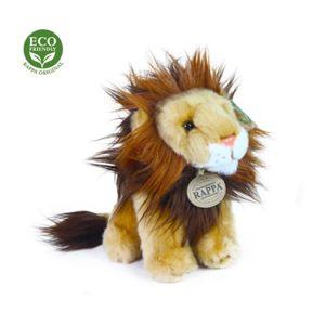 Plyšový lev sedící, 18 cm