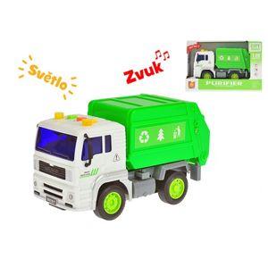 Auto úklidové zelený kontejner 1:20