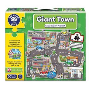 Silnice - Puzzle město