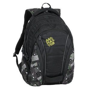 Studentský batoh Bagmaster - BAG 9 G GREEN/GRAY/BLACK