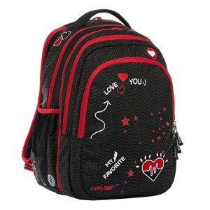 Studentský batoh Explore 2v1 ANNA My Favorite