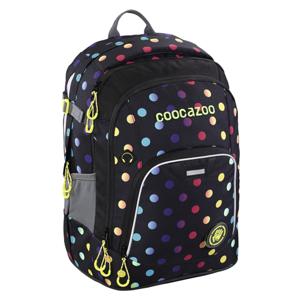 Školní batoh CoocaZoo - RayDay - Magic Polka Colorful