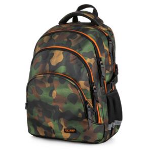 Školní batoh OXY SCOOLER - Camo