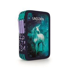 Penál 3patrový prázdný OXY - Unicorn/Jednorožec 2020